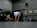 foot work - bboy delog