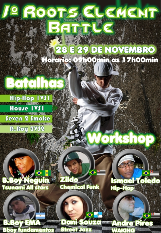 1º Roots Element Battle