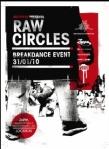 Raw Circles Flyer