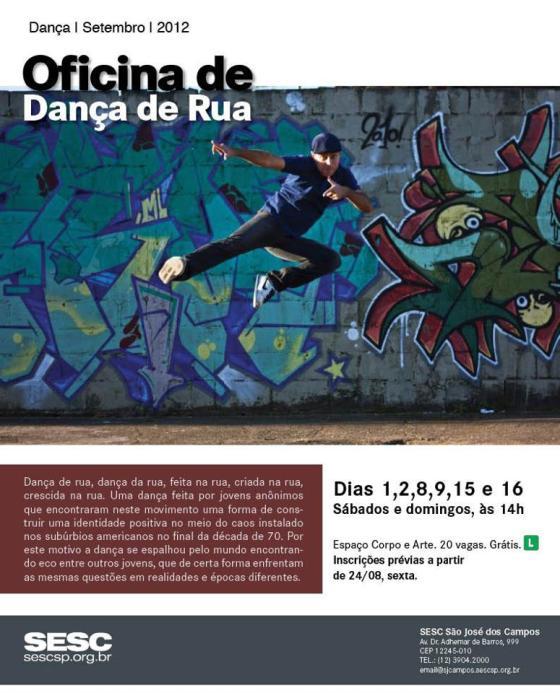 Oficina de Dança de Rua